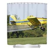 Airplane  Shower Curtain