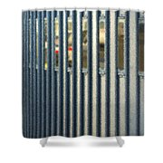 Airport Jetway Shower Curtain