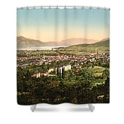 Aix France Shower Curtain by International  Images
