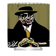 Al Capone Full Color Shower Curtain