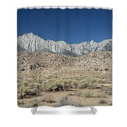Alabama Hills  Shower Curtain
