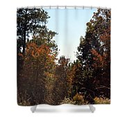 Alabama Mountainside October 2012 Shower Curtain