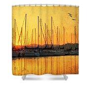 Alabama Sunrise Shower Curtain