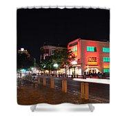 Alamo Plaza Shower Curtain