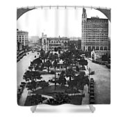 Alamo Plaza In San Antonio Shower Curtain