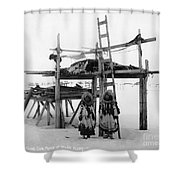 Alaska: Eskimo Storage Shower Curtain