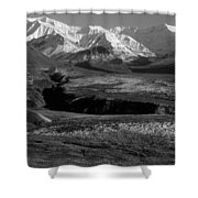 Alaska Valley Shower Curtain