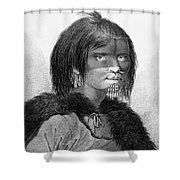Alaska: Woman, C1784 Shower Curtain