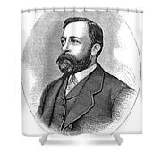 Albert Bierstadt (1830-1902) Shower Curtain
