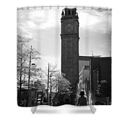 Albert Clock Belfast Shower Curtain