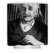 Albert Einstein, German-american Shower Curtain
