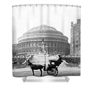Albert Hall In London - England - C 1904 Shower Curtain