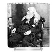 Albert Pike (1809-1891) Shower Curtain