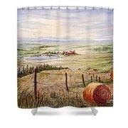 Alberta Foothills Shower Curtain