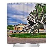 Albright Knox Art Gallery Shower Curtain