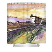 Albufeira De Valencia 21 Shower Curtain