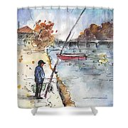 Albufera De Valencia 05 Shower Curtain