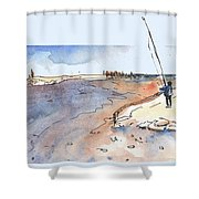 Albufera De Valencia 08 Shower Curtain