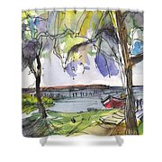 Albufera De Valencia 10 Shower Curtain