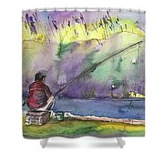 Albufera De Valencia 12 B Shower Curtain