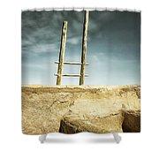 Albuqurque Adobe Shower Curtain