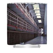 Alcatraz Cell Block Shower Curtain