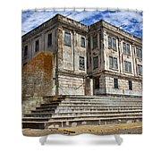 Alcatraz Cellhouse  Shower Curtain