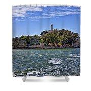 Alcatraz Island San Francisco Shower Curtain