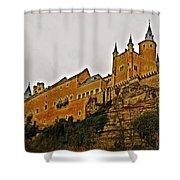 Alcazar De Segovia - Spain Shower Curtain