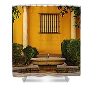 Alcazar Fountain In Spain Shower Curtain