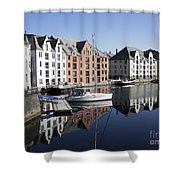 Alesund Norway Shower Curtain