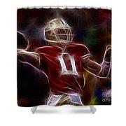 Alex Smith - 49ers Quarterback Shower Curtain