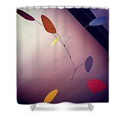 Alexander Calder Shower Curtain