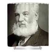 Alexander Graham Bell Shower Curtain