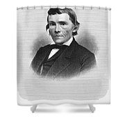 Alexander H. Stephens Shower Curtain