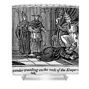 Alexander IIi (d. 1181) Shower Curtain