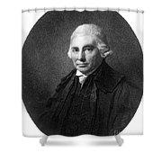 Alexander Monro II, Scottish Anatomist Shower Curtain by Science Source
