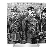 Alfred Dreyfus (1859-1935) Shower Curtain by Granger