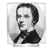 Alfred E. Beach (1826-1896) Shower Curtain