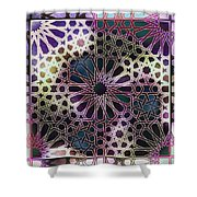Alhambra Pattern Shower Curtain