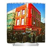 Alice's - London Shower Curtain