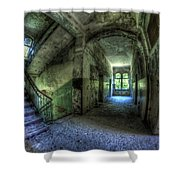 All Beelitz Shower Curtain by Nathan Wright