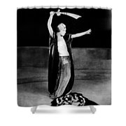 Alla Nazimova (1879-1945) Shower Curtain
