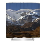 Allardyce Range, Cumberland East Bay Shower Curtain by Ingo Arndt