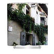 Alley In Bressanone Shower Curtain