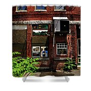 Alley Life And Art Shower Curtain