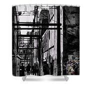 Alley Parade  Shower Curtain
