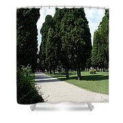 Alley Topkapi Palace Courtyard - Istanbul Shower Curtain