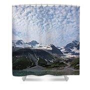 Alluvial Deposits Shower Curtain