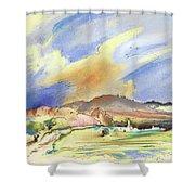 Almeria Region In Spain 01 Shower Curtain